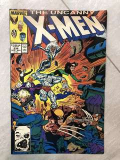 Comics : X-Men 238