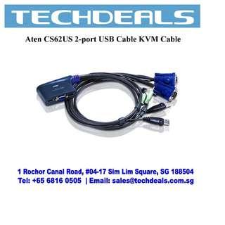 Aten CS62US 2-port USB Cable KVM Cable