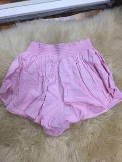 Forever 21 pink flutter soft shorts