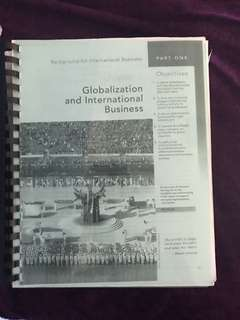 Globalisation and international business