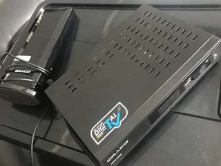 Draco digital tv box
