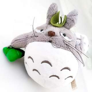 🚚 Totoro Small Plushie for Study table Window Keychain