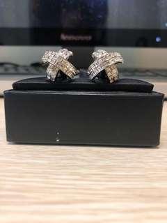 Austrian crystals cuff links 水晶 袖口扣