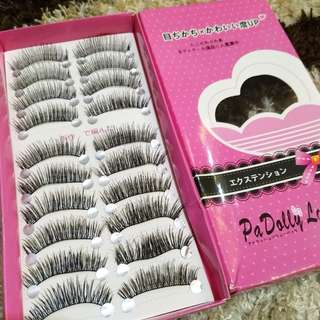 PROMO Fake eyelashes bulumata palsu isi 10