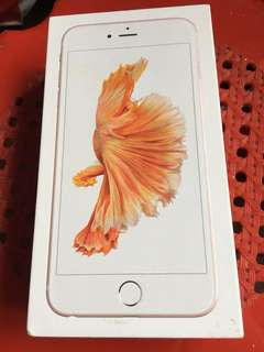 Iphone 6s plus (BOX ONLY)