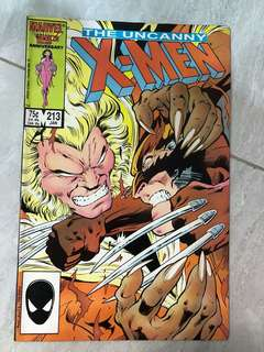 Comics : X-Men 213