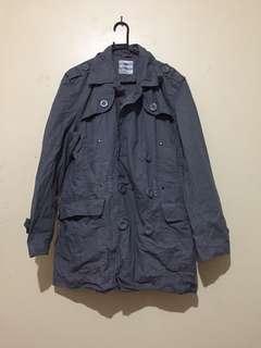 Grey Parka Jacket