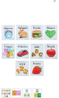 Education Baby Books set of 10 by Teeny Baby
