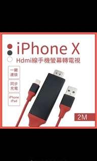🚚 HDMI iOS 轉換電視