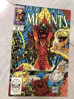 Comics: New Mutants #85