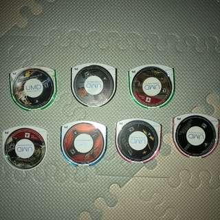 PSP UMD Games