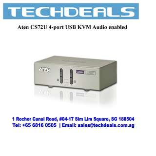Aten CS72U 2-port USB KVM Audio enabled