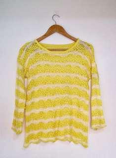 Crochet Yellow Top