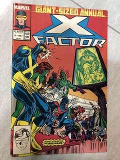 Comics : X-Factor Annual #2