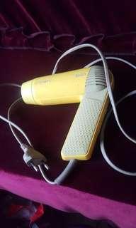 1000W lightweight used philips hair dryer