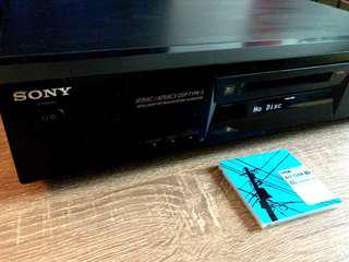 Sony MD Recording Deck/ Player