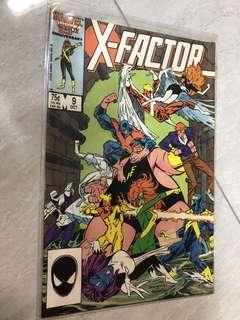 Comics : X-Factor #9