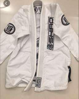 Shirk A0 sized BJJ with inner rash guard