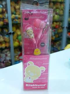 BN Authentic Japan San-x Rilakkuma Earpiece