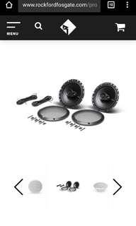 Rockford Fosgate Prime 3 way speakers coax