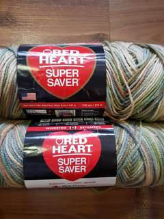Red Heart Supersaver Multicolored Yarn