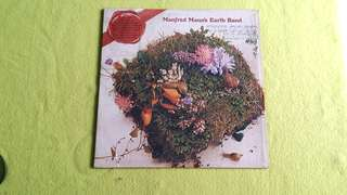 MANFRED MANN EARTH BAND.  the good earth. ( get this album to own 1 square foot of land in England) vinyl record