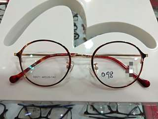 Spectacle Frame round shape unique