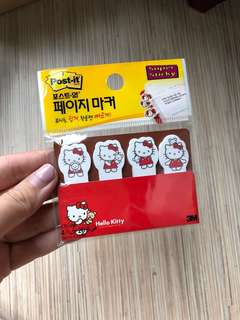 3M Hello Kitty Post It Notes