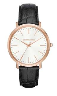 BRAND NEW MICHAEL KORS Women's Leather Watch