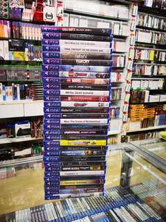 P4 game each below RM100 new and sealed free postage 0124140307 WhatsApp