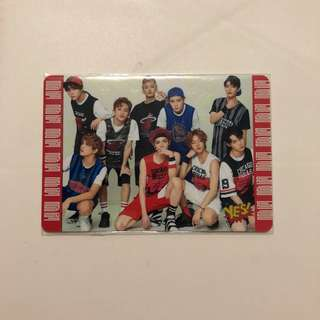 NCT 127 Yes! Card 第36期 夜光卡