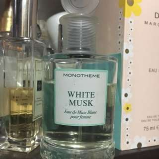Authentic Monotheme white musk
