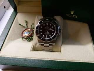勞力士Rolex 114060 submariner 亂碼