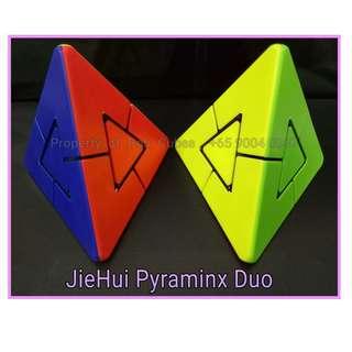 - JieHui Lefun 2x2 Pyraminx Duo for sale Singapore