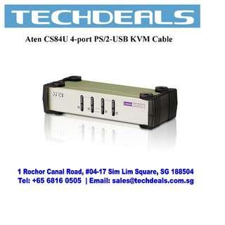 Aten CS84U 4-Port PS/2-USB VGA KVM Cable