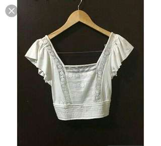 Forever 21 cropped restock best seller