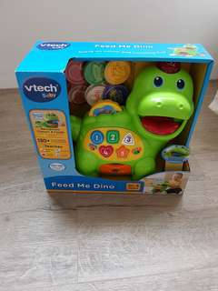 Vtech Feed Me Dino Toy Brand New
