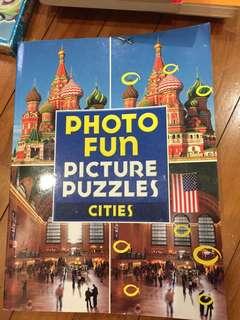 Photo Fun Picture Puzzles full colored Books