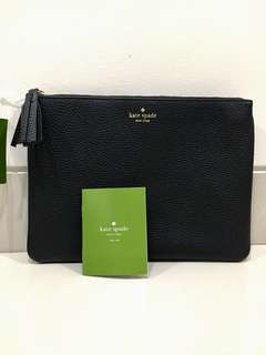 Authentic KATE SPADE BLACK leather