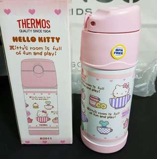 THERMOS Funtainer 12 Ounce Pink Hello Kitty