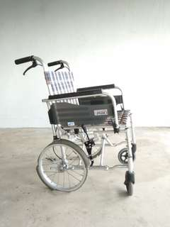 Wheelchair  wheels deterioted