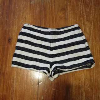 Forever21 Stripes Woven Shorts