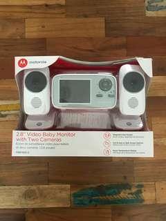"""Motorola MBP483-2 2.8"""" Baby Video Monitor"""
