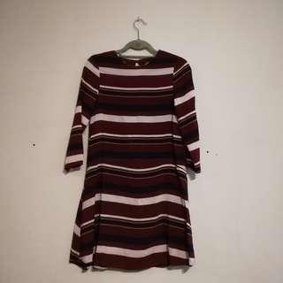 Zalora Red Stripes Dress