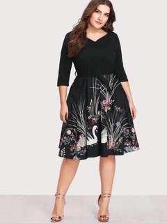 📌US plus size dress