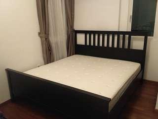 IKEA top range Hesseng King bed
