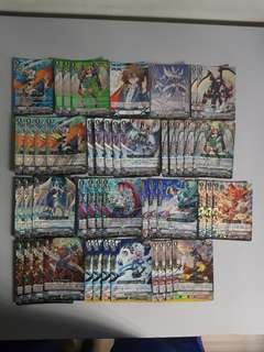 Vanguard Japanese V-BT01 Foils Sale!
