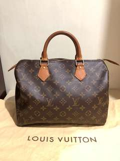 Authentic LV Speedy30