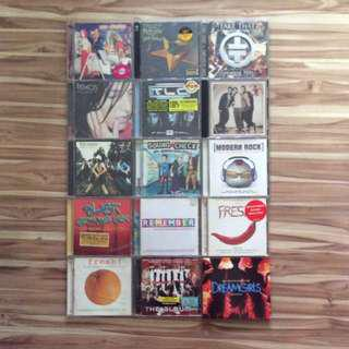 English Music CDs From Various Artists