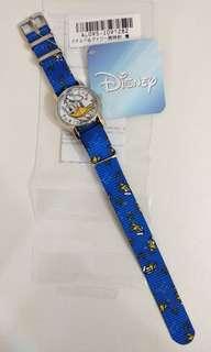 全新日本直送-迪士尼唐老鴨兒童手錶